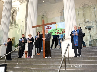 Way of the Cross 2015 at Collins Street Baptist Church