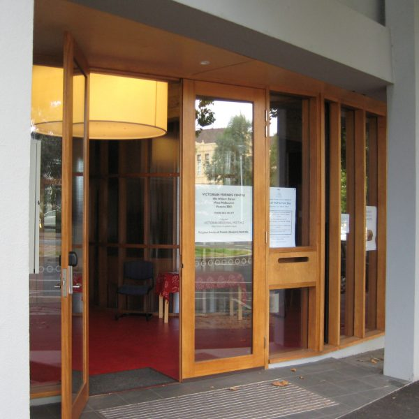 Victorian Friends Centre 484 William Street West Melbourne